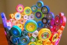 Artesanato - Reciclagem (1) / Crafts - Recycling / by Angela Espanhola