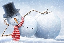 snowmen and snow / by Connie Shelton