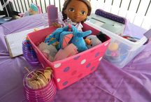 Doc Mcstuffins Birthday Party / by Staci