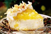 Desserts: Cheesecakes. Pies & Puddings / by Jan Fox