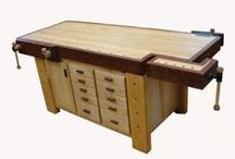 DIY: Workbenches, Sawhorses, Workstations / by Jan Fox
