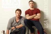 Superheros...gotta love them! / by Shelby Lange