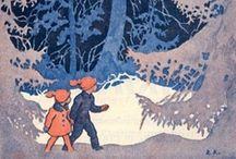Drawed Kids / Romanttiset lapsipiirrokset / by Raija Forsström