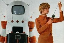 Vintage Retrofuturism & Sci-Fi Art / A View Of The Future From Eyes Of The Past / by shape