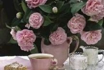 Tea - Glorious Tea... / ...and some pretty china / by Cheryl Bow