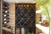 Adegas / #winecellar #caveavin / by Chic&Comfy