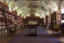 Les plus belles bibliothèques du monde / Promenez-vous dans les rayons de quelques-unes des plus belles bibliothèques du monde / by Nedim Chaabene