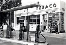 filling stations of yesteryear / by Mick Morris