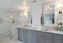 Master Bathroom Inspiration / Reno ideas and inspiration for my master bathroom / by Sheilagh Rennie