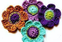 CROCHET FLOWERS / by Annie Wong