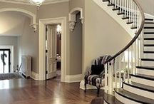 Home Ideas: Entry hall and staircases / Happy pinning! / by Denise Rogers
