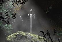Arthuriana / King Arthur, Celtic tales, Druids and Avalon.  / by KC Martin