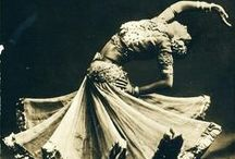 Danses Orientales / Vintage photos of belly dancers and other tribal dances / by KC Martin