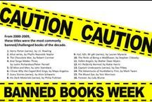 Banned Books / Featured books that have been banned across the country in celebration of Banned Books Week 2013! / by Burlington County Library System