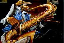 Black Artist - Frank Morrison / by CAROLYN WESNER