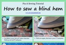 Sewing tips and tricks / by Natalie - Sew outnumbered
