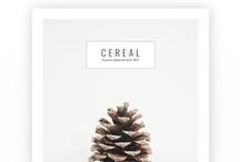 c e r e a l . v o l u m e . o n e / by Cereal Magazine