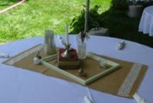 Wedding Centerpieces / Ideas for wedding centerpieces  / by Hawthorn, A Bed and Breakfast