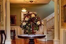 Mansion Elegance / Interior of Hawthorn, A Bed & Breakfast / by Hawthorn, A Bed and Breakfast