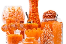 Orange Candy Buffets / by Candy Buffet Business