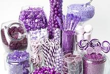 Purple Candy Buffets / by Candy Buffet Business