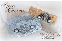 """A Little Lace / The girly old fashioned girl in me loves lace - it brings to mind the phrase """"the finer things in life"""".  / by Janet Wakeland"""