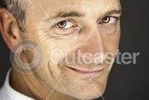 Handsome Men / by Cutcaster Stock Images