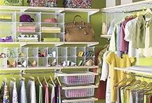 Dream Closet / I've been given the go ahead to convert an entire unused bedroom to a giant dream closet. Step One - Pin Inspiration!  / by Janet Wakeland - RemARKably Created
