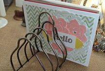 Card Display Ideas  / by Janet Wakeland