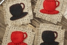 Coasters/Mug Rugs DIY / by Marianne Donohue