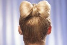 How To Make A Bow In Your Hair / Follow these simple steps to create an adorably elegant bow in your hair for a sweet, casual look or even your next special occasion. http://www.hairperfecter.com/how-to-make-a-bow-in-your-hair/ / by Perfecter Beauty Brands