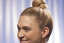 Holiday Updo's - How To Make A Knot Bun / Learn how to make a knot bun in your hair for a cute, casual look while holiday shopping or to accessorize your pretty new sweater at family get-togethers. http://www.hairperfecter.com/how-to-make-a-knot-bun/ / by Perfecter Beauty Brands