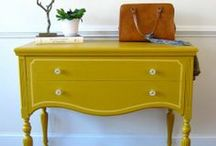DIY Makeovers At HOME / How to revamp, refinish, reupholster and other ways to rescue old furniture. / by HuffPost Home