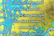 angelsneverdie / for my sweet angels in heaven 10-95,10-07 ,12-07,07-10,08-10,11-12,09-13,02-07-14 / by jay delgado