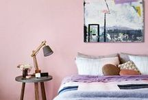 Bedrooms at HOME / If these lovely bedrooms were yours, you'd never leave the bed. / by HuffPost Home