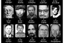 Crime & Punishment (Murders & Mysteries) / Jack the Ripper, Lizzie Bourden, The Black Dahlia.... / by Bunniboila