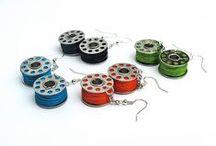Kierrätyskorut - Recycled jewelry / Kierrätetyistä materiaaleista valmistettuja, tuunattuja, muokattuja ja muuten ekologisia koruja. Innovative reused, repurposed and recycled eco jewelry: necklaces, bracelets, earrings and rings.  / by Korulinna