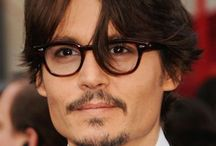 Johnny / Johnny Depp is an actor that has chosen roles that he found interesting rather than box office successes. His latest films have been successful.  A very talented actor with numerous awards.  / by Gloria Kim