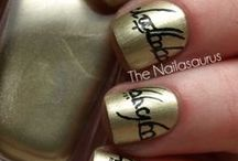 Nail Art / Mostly geeky tho / by Sydney Halling