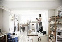 studio / by Georgia {center ceramics}