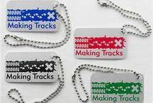 Making Tracks / by Landsharkz