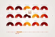 Infographic / infomation, sign, data visualization / by sayaka maruyama
