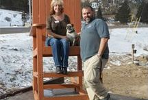 Rocking Chair Pics / by Murphy's River Lodge