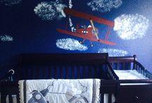 Ethan's nursery ❤️ / by Ashley Hanner