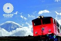 Ecuador´s Train/Tren Ecuador / Descubre el Ecuador en un fascinante viaje en Tren. Discover the Ecuador through an amazing Train trip. / by ✈Visit Ecuador and its Galapagos Islands