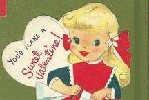 Vintage Valentine Cards / by Sabina Mugford