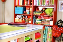 Creative & Fun Work Spaces / by Quakertown Quilts