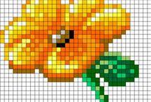 Cross stitch & pearler beads / by Jensen McColl