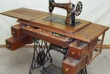 Vintage Sewing Machines / by Hammack's Wood-N-Cloth Crafts