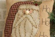 Santas & Snowmen / by Hammack's Wood-N-Cloth Crafts